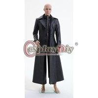 Cosplaydiy Custom Made Resident Evil 5 Albert Wesker Ceket Ceket Yetişkin Erkekler Cadılar Bayramı Cosplay Kostüm D0527