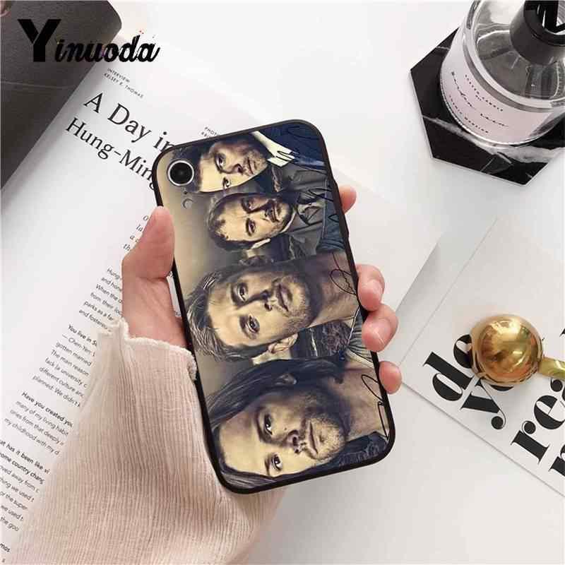 Yinuoda Tivi Siêu Nhiên Khách Hàng Chất Lượng Cao Ốp Lưng Điện Thoại Cho iPhone 8 7 6 6S 6S Plus X XS Max 5 5 5S SE XR 11 11pro 11 Promax Bao