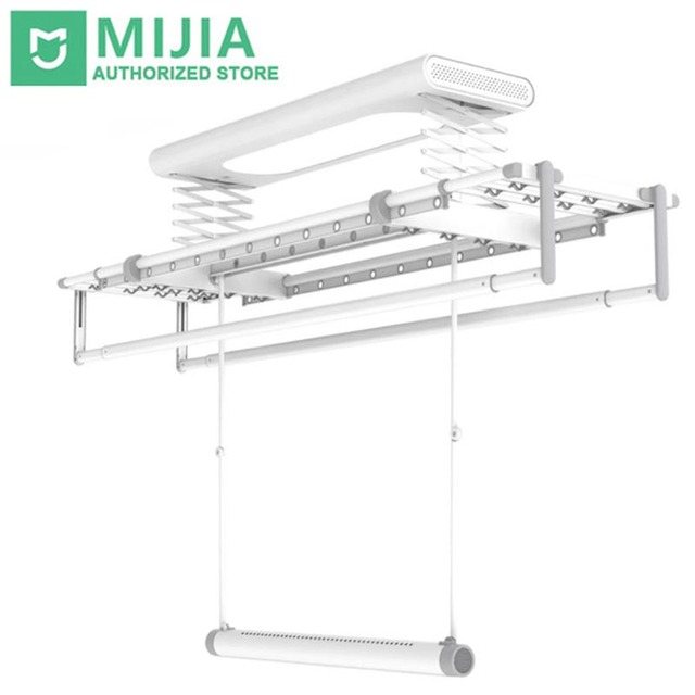 Xiaomi Mr Bond Smart Drying Rack Multifunction 30KG Bearing Aluminum Alloy Support Mihome App Remote Control