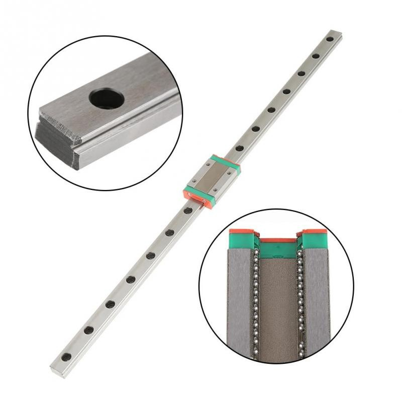 Image 3 - Mini for 12mm Linear Guide MGN12 400mm linear rail MGN12C Long linear carriage for CNC X Y Z Axis 3d printer part-in 3D Printer Parts & Accessories from Computer & Office