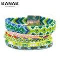 KANAK Fashion New listing Layer Wrap Winter Bohemia  Style Magnet Colourful Bracele Female Jewlery