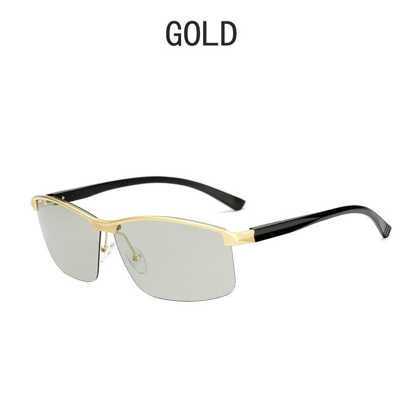 BEMUCNA 2018 les Nouvelles lunettes de soleil hommes aluminium et de magnésium  polarisant lunettes de soleil photochromiques ... c335f1a8e273