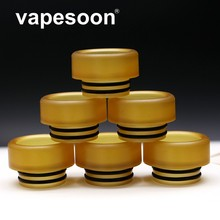 VapeSoon Wholesale 100pcs/lot  810 PEI Drip Tip For TFV8 /Big Baby/TFV12 /X Baby Atomizer Retail Package