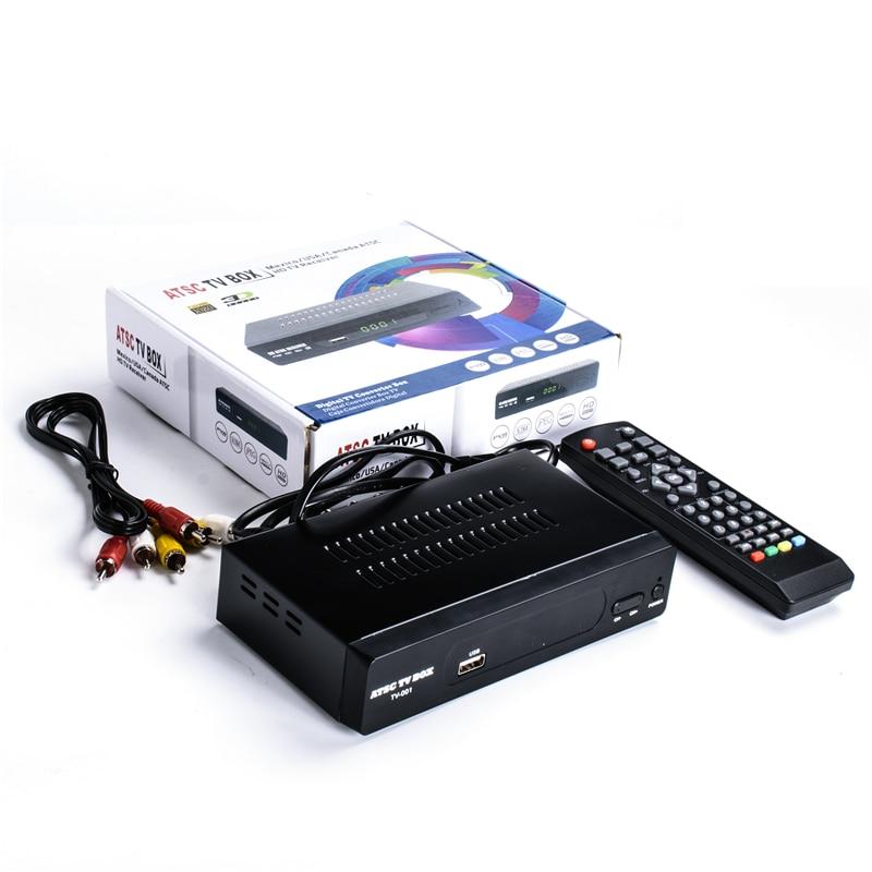 Digital ATSC TV Tuner digital tv receiver ATSC M3 for Canada Mexico USA south korea Air Channels 1080p HDMI Video Output