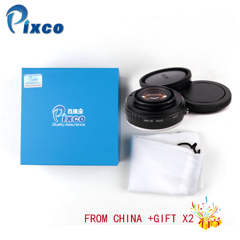 Pixco Focal Reducer Speed Booster Lens Mount Adapter Suit For Sony Alpha Lens to E Mount NEX A5000 A3000 5T 3N 6 5R Dropshipping