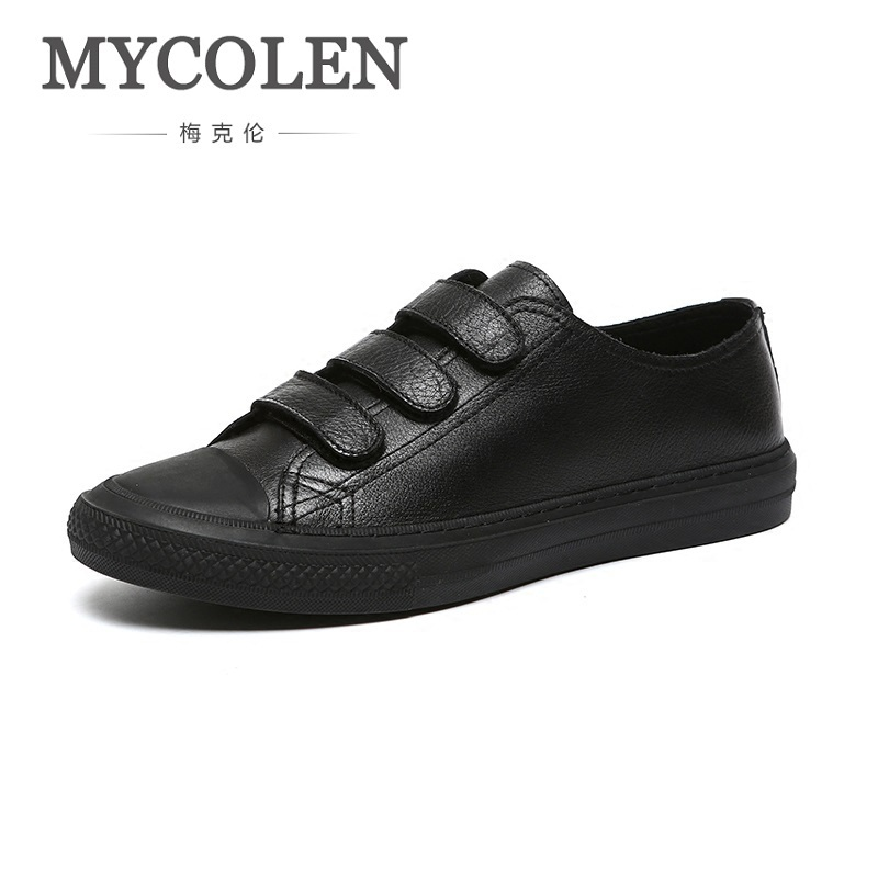 MYCOLEN New Spring Summer 2018 Male Fashion Casual Canvas Shoes Men Popular Lace Up Denim Men Flats Shoes Mannen Schoenen z suo men s shoes pure color denim casual shoes men s wear in spring and summer of canvas shoes with flat sole zs16106