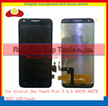 For Alcatel One Touch Pixi3 Pixi 3 4.5 4027 4027D 4027X 4027A OT4027 Lcd Display Touch Screen Digitizer Assembly Sensor Panel