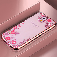 YonLinTan etui,coque,cover,case For Samsung Galaxy s 5 s5 neo i9600 transparent phone cases back Soft silicone silicon rose gold(China)