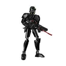 106 PCS Star Wars Imperial Morte Trooper Brinquedos de Blocos de Construção Define Crianças Modelo Figura Tijolo Compatível Com 75121 XD130