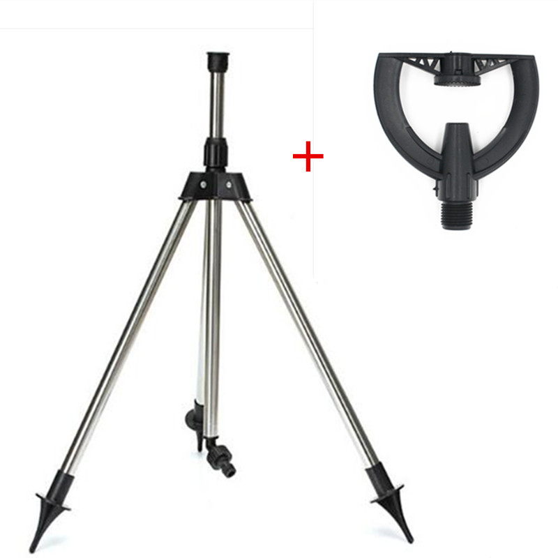 Responsible 1/2inch Refraction Nozzle With Ss Tripod Refracting Atomizing Sprinkler Garden Cooling Plastic Nozzle Yard Watering Tools Ture 100% Guarantee Garden Supplies Home & Garden