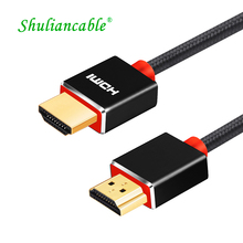 Shuliancable HDMI cable High Speed HDMI 2.0 4k 1080p 3D for HD TV LCD Laptop PS3