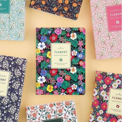 Mini Pocket Floral Leather Daily Planner 11.5*15.5cm 192 pages undated agenda girls gift cute colorful floral design portable daily 2018 planner lovely doll girl scheduler 256p 11 8 15 4 2 3cm agenda gift
