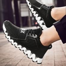2019 New Mesh Breathable Running Shoes for Men Summer Sport Designer Luxury Mens Athletic Trend Sneakers