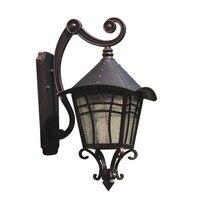 Классическое Наружное освещение Настенный светильник для двора наружная стена балкон водонепроницаемый открытый павильон прохода настен