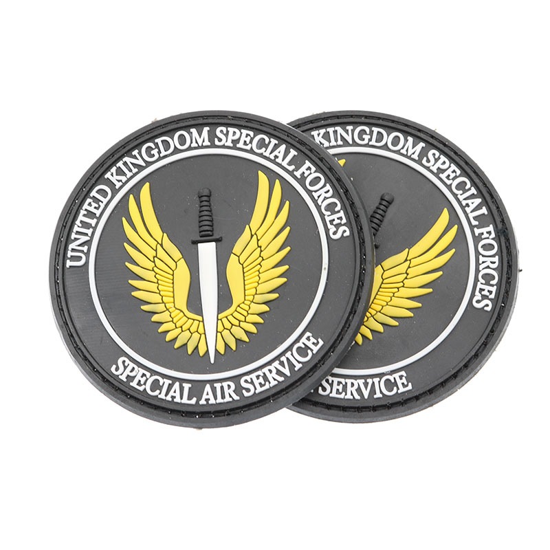United Kingdom Special Forces Cloth SAS Black Action UK Special Vehicle Parts Air Services Military Tactical Soldier