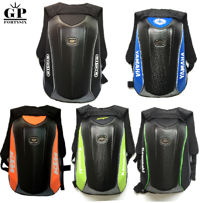 OGIO Mach Motorcycle Racing Backpack Waterproof For Yamaha Carbon Fiber Motorcycle Bag Riding Moto Motocross Luggage Bags motorcycle bag top case motogp moto bags for yamaha racing riding cycling water bag dh mx atv mtb suit case motocross backpack