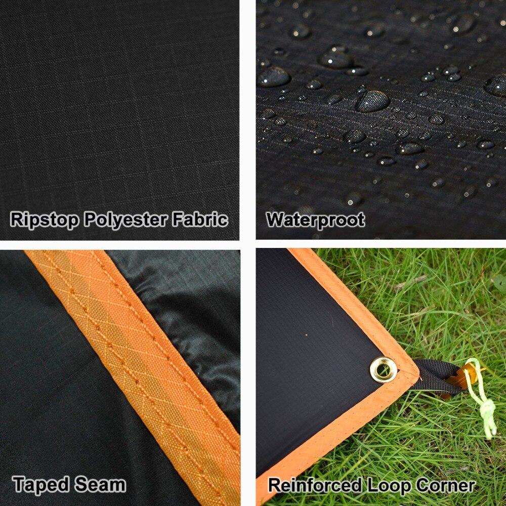 revestimento de silicone de alta nylon livre caming tent tarp 03