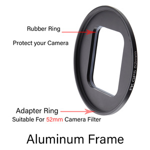 Image 5 - Hero5/6/7 カメラフィルターアルミアダプタ + UV CPL ND 2 4 8 フィルタ + キャップセット移動プロヒーロー 5 6 7 ブラック光学レンズアクセサリー