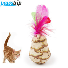 3 Design Natural SilverVine Cat Toys Feather False Mouse Ball Cat Treats Chew Playing Toys