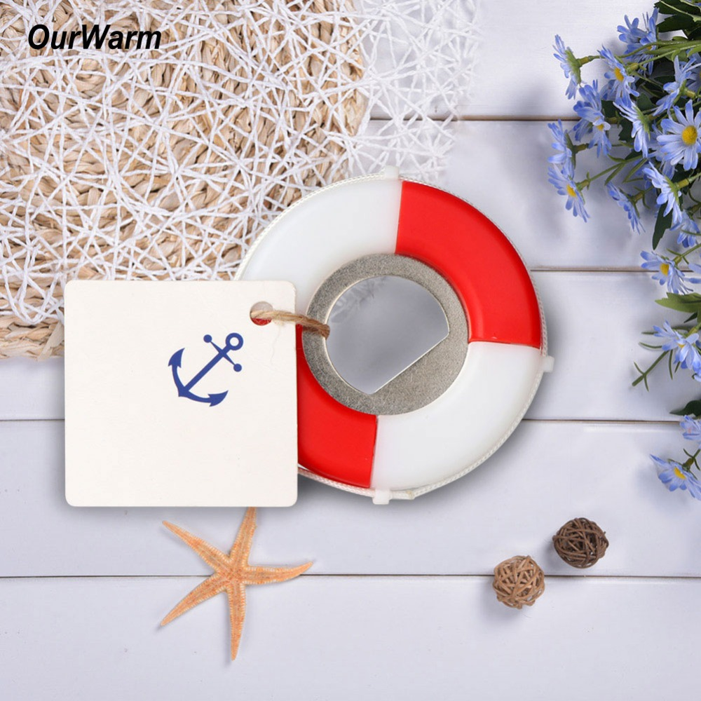 OurWarm 5Pcs Wedding Favors and Gifts Lifesaver Bottle Opener Nautical Theme Hawaii Party Decorations Beach Wedding Souvenirs-in Party Favors from ...