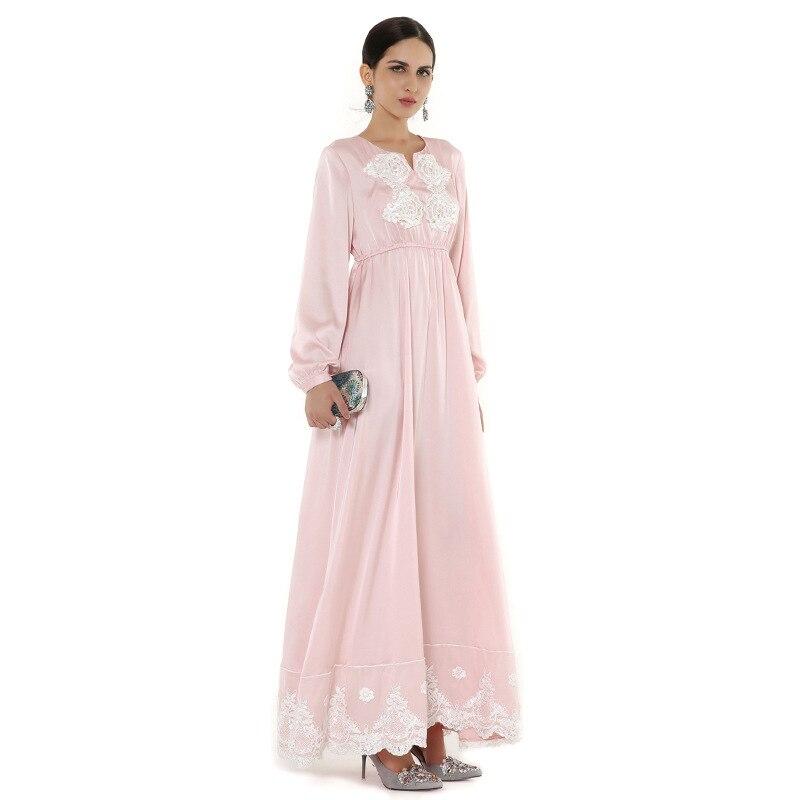Langes rosa kleid h&m