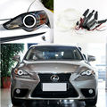 Для Lexus IS250 IS250F 2013 Отлично комплект angel eyes Ultrabright лампы подсветки CCFL Angel Eyes kit Halo Кольцо