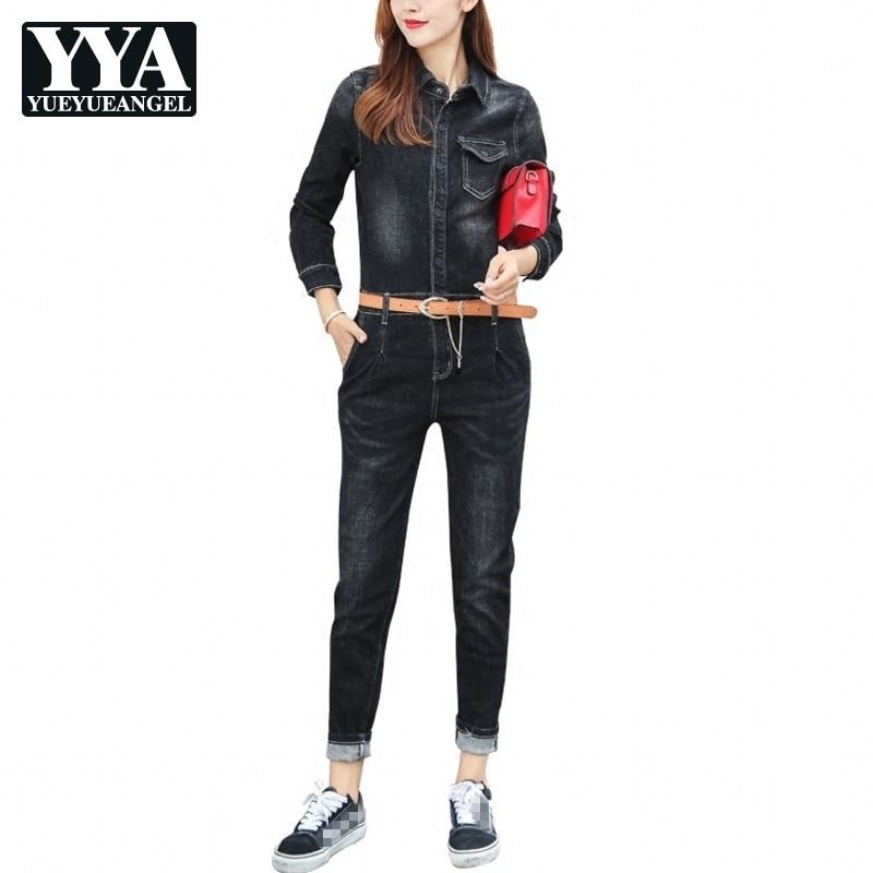 Джинсовые комбинезоны, женские джинсовые комбинезоны, длинные брюки, потертые джинсы, джинсовые повседневные Комбинезоны, женские облегаю