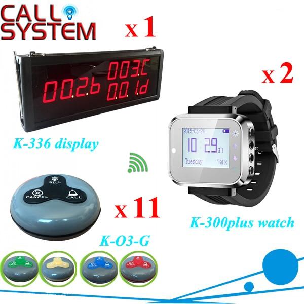 Официант зуммер системы вызова 1 дисплей номера 2 часы пейджер 11 таблица передатчик для оборудования предприятий общественного питания