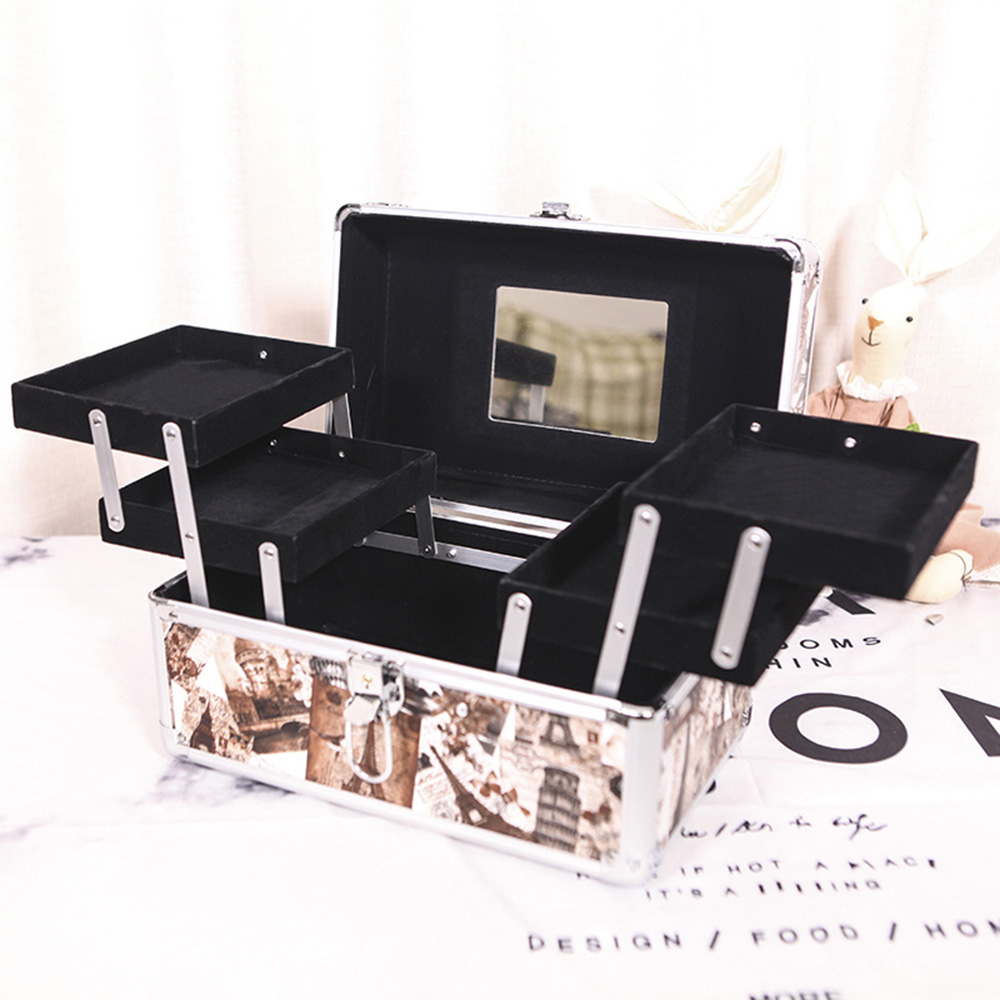 Women Fashion makeup set Bag Travel Makeup Organizer Professional Make Up Box Cosmetics Pouch Bags Beauty Case For Makeup Artist 1