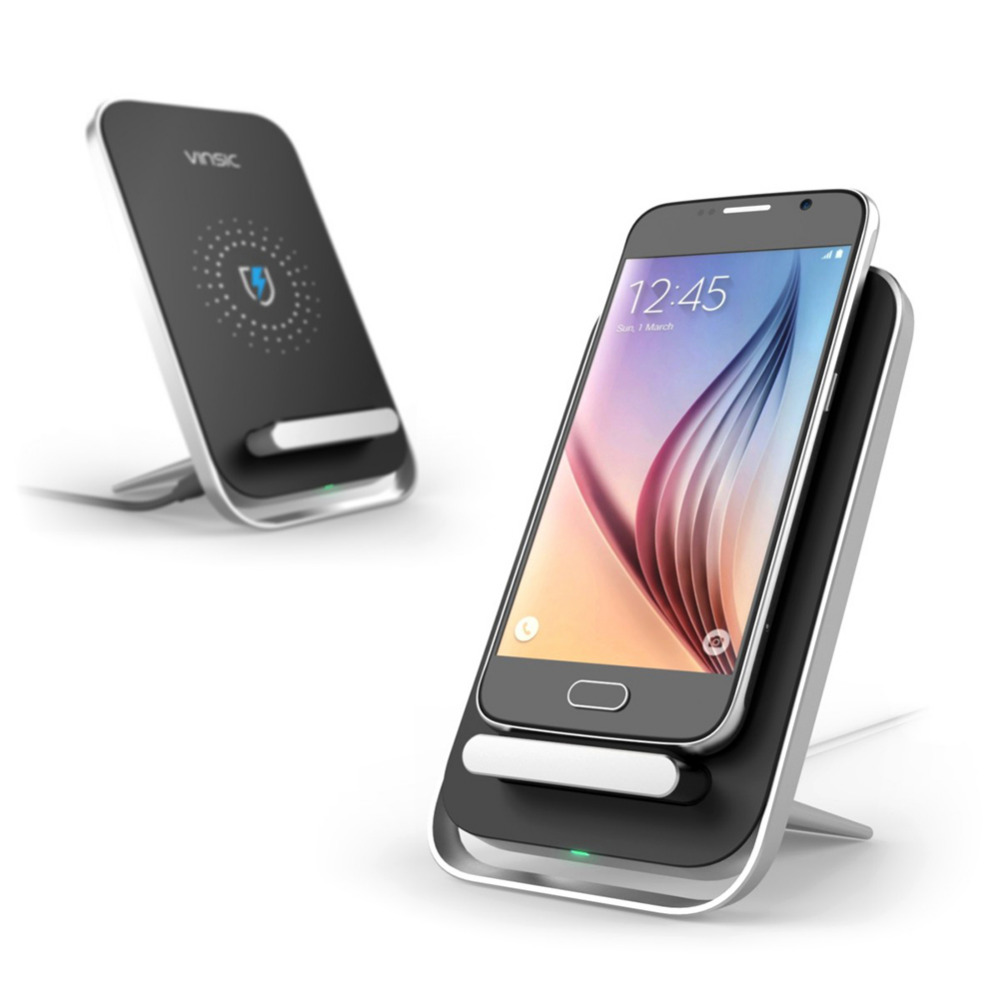 Vinsic Wireless Charger Triple Coil Mobile Phone Wireless