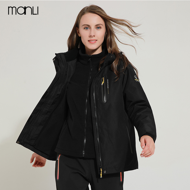 d252bc54c11b3 MANLI Men Women Waterproof Camping Hiking Jacket Outdoor Climbing  Windbreaker Trekking Rain Coat Clothing Sport Jackets Size 5XL