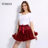 Cute Solid Ball Gown Design New Arrivals 2018 Fashion Summer Women Mesh Natural Skirt Female Above Knee Mini Skirts Clothing