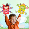 DIY Paper Bag Hand Puppets Set 6 Models Of Puzzle Toys For Boy Children And Kids