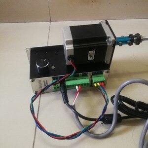 Image 3 - בקרה דיגיטלית אוטומטי נמוך מהירות משתנה אוטומטי צעד מנוע שנאי סליל מתפתל מכונת 2 כיוונים חוט המותח