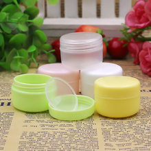 50g/20g 5pcs/lot Travel Portable Empty Cosmetic Container Face Cream Lotion Bottles PP Pots Women Beauty Refillable Makeup Tool
