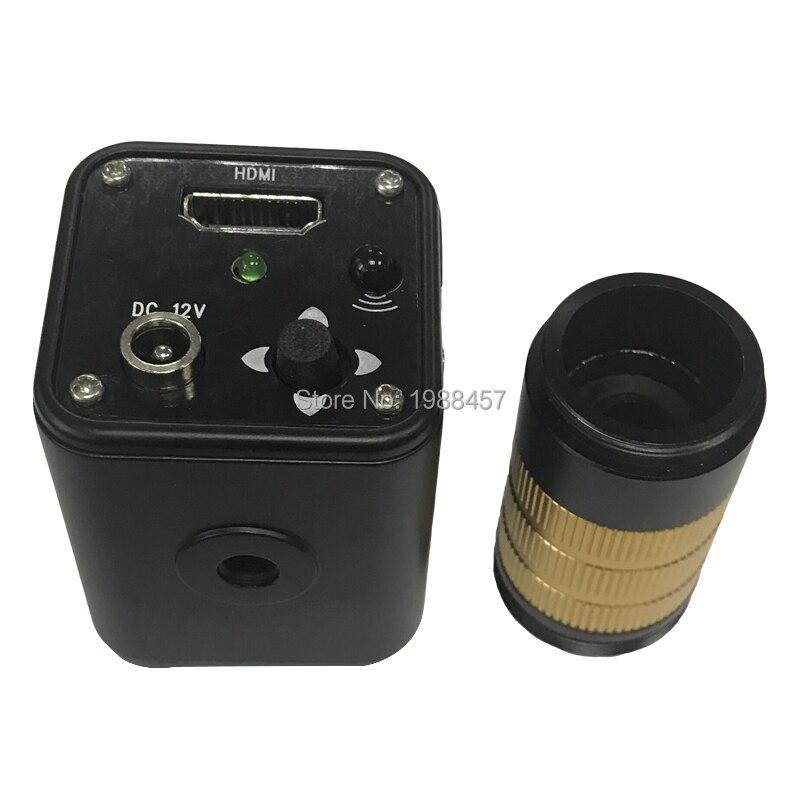 Full HD 60F/S 1080 P HDMI промышленный видео микроскоп большая площадь визуальная камера управление объективом для ремонта iPhone PCB SMD smt bga