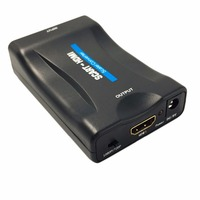 Video Switcher SCART To HDMI Converter 1080P Video Audio Signal Adapter HD With Usb Cable For