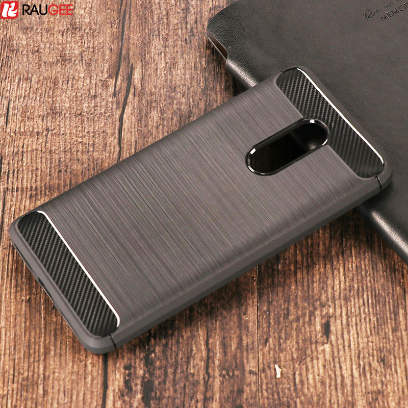 Xiaomi Redmi Note 4 Case- ի համար Հակաոկոկային ածխածնային մանրաթել TPU Silicon Case Cover For Xiaomi Redmi Note 4 Pro Prime / Note 4X