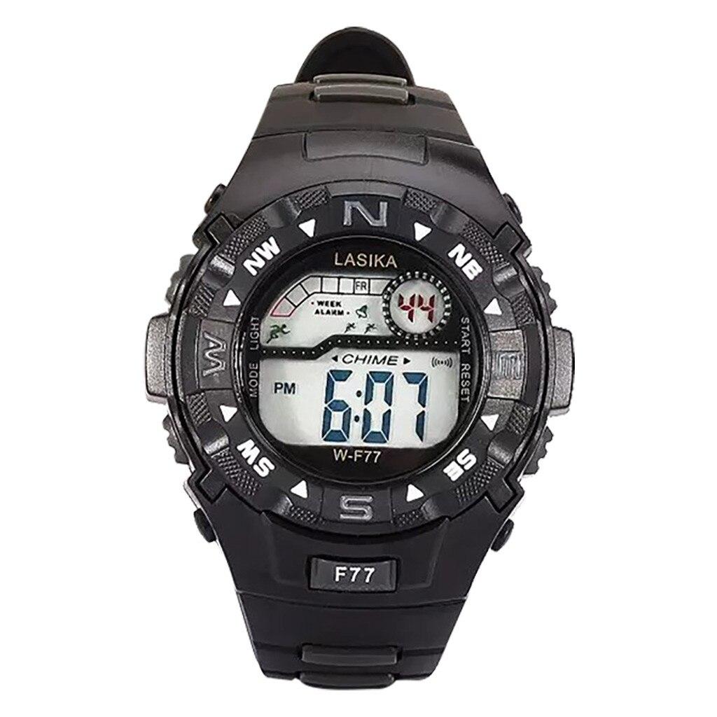 LASIKA Fashion Sports Kids Digital Watch Multi Function Alarm Clock Student Waterproof Sports Electronic Children Watches Reloj