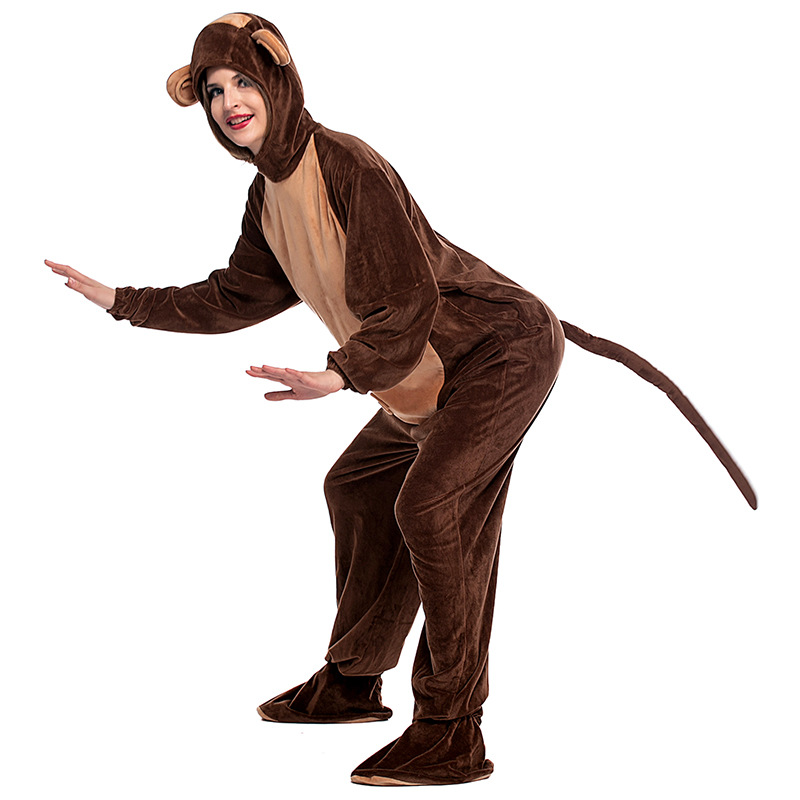 new female naughty monkey cos costume halloween cosplay adult disfraces masquerade hot sale conjoined clothes 5041h177447 - Halloween Monkey Costumes