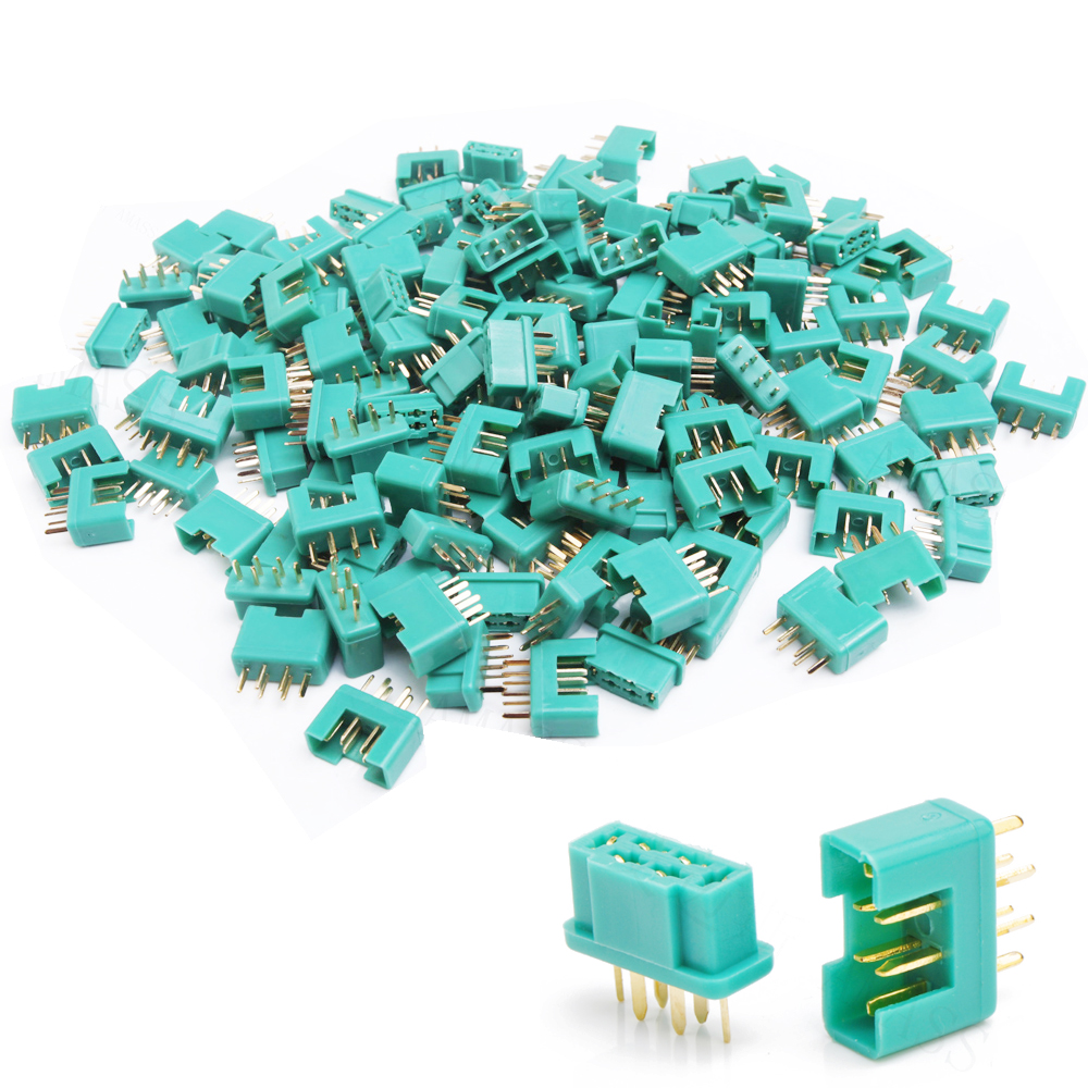 5pairs Amass MPX terminal plated gold 6-pin plug Connector