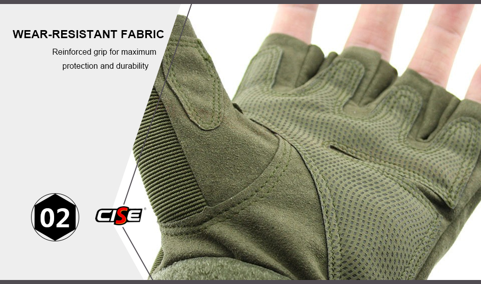 HTB1OQfzbbH1gK0jSZFwq6A7aXXad - Motorcycle Fingerless Gloves Hard Knuckle Motorbike Motocross Luva Biker Racing Ridding Cycling Half Finger Moto Protective Men