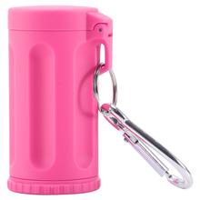 Durable Portable Mini Ashtray Pocket Ashtray Keychain Candy Color Car Ashtray Italy Outdoor Smoking Accessories Beach Ashtray cheap ROUND