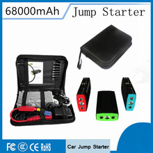 Portable Car Jump Starter Emergency 12V Car Battery Booster Charger Mobile 2USB Phone Laptop Power Bank SOS light Free Ship