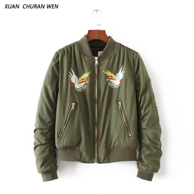 Aliexpress.com : Buy XUANCHURANWEN Winter Cotton Bomber Jacket ...