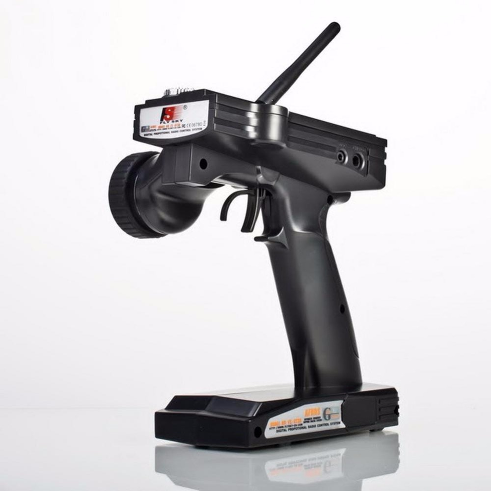FlySky FS-GT3B 2.4GHz 3CH 20DB RC Boat Control Gun Transmitter w/ TX Receiver frsky fs gt3b 2 4g 3ch gun transmitter w receiver for rc car boat