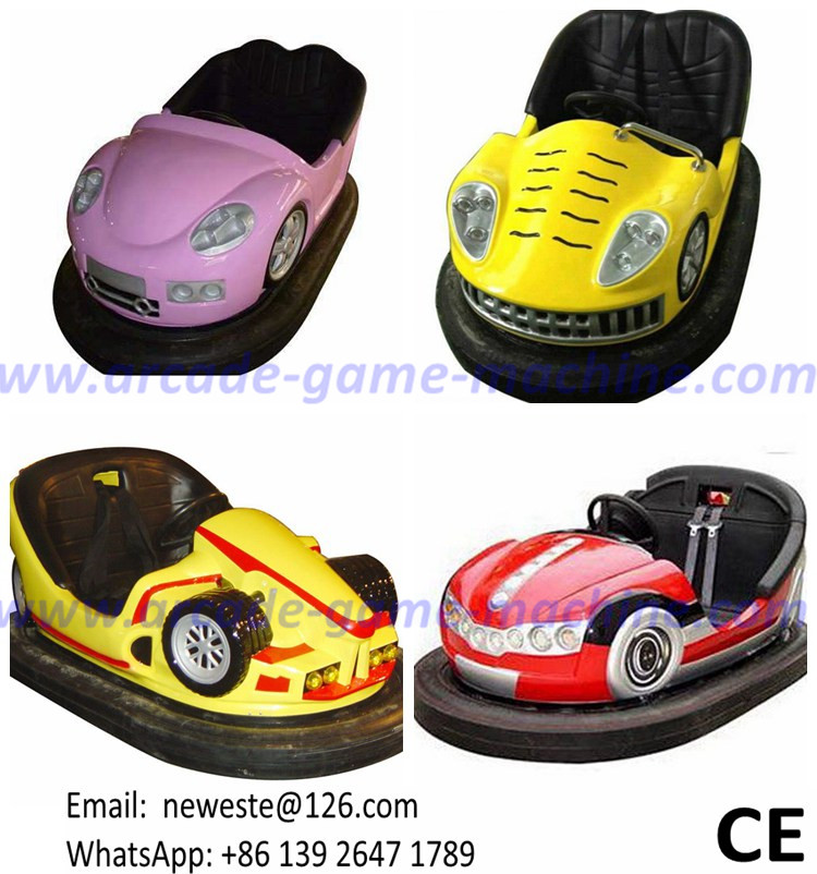 Indoor Amusement Device Theme Park Equipment Ground Floor Electric Collision Bumper Cars