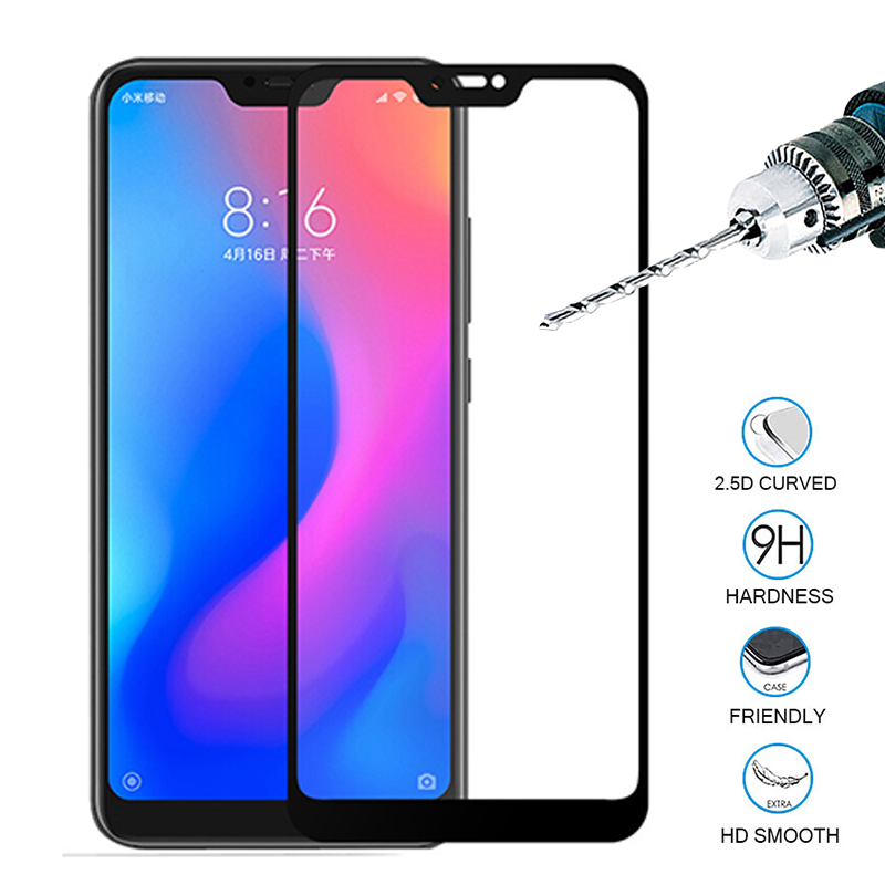 For <font><b>Xiaomi</b></font> <font><b>mi</b></font> a2 mia 2 lite 2lite light Protective Glass Full Cover Screen Protector Tempered Glass on xiomi <font><b>mi</b></font> <font><b>a2lite</b></font> glas 9H image