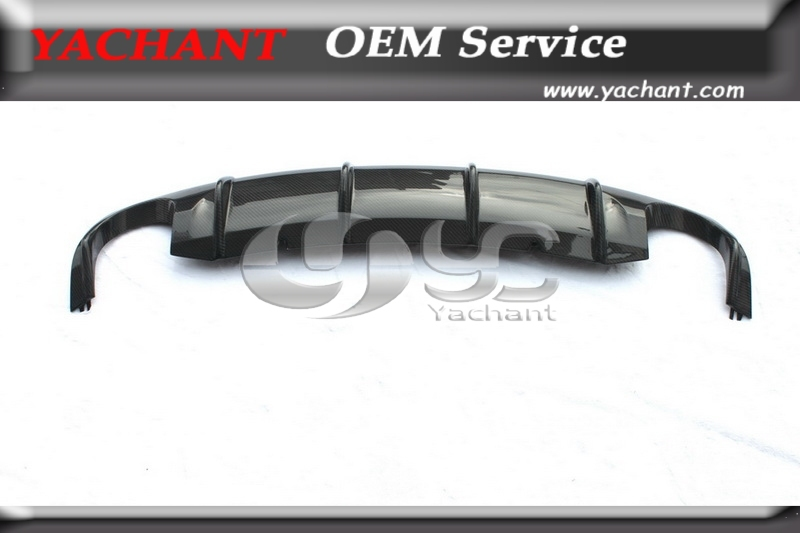 Carbon Fiber Racing Style Rear Diffuser Fit For VW Scirocco R