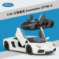 WELLY 1:24 Simulation Classic Toy Car Diecast Vehicle Model Lamborghin Aventador LP700 Metal Alloy Car For Boys Gift Collection